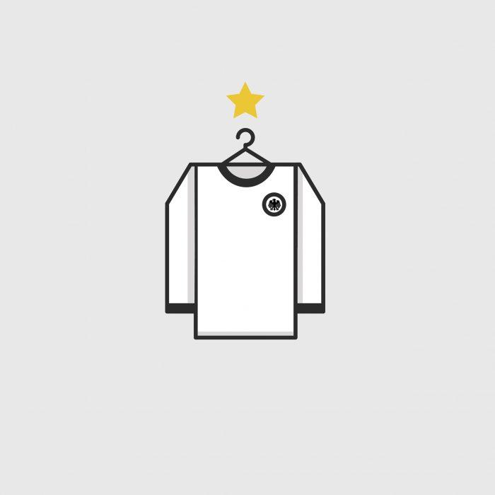 Alemania ganó el último ensayo mundialista