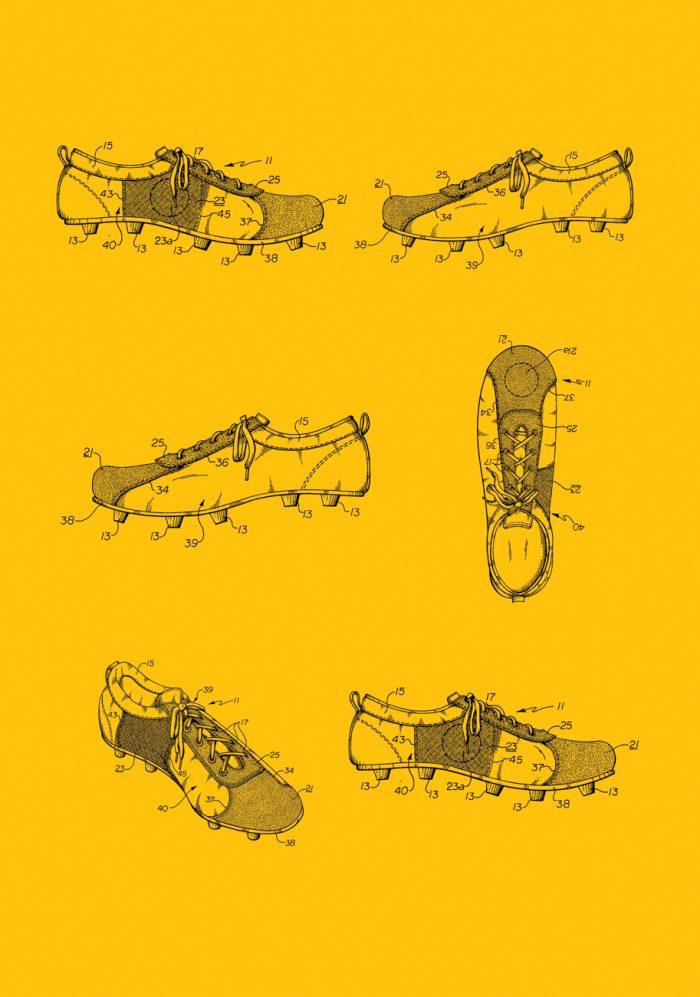 La evolución de los botines de fútbol