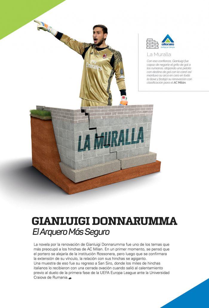 La Muralla – Gianluigi Donnarumma
