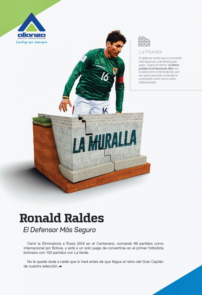 Ronald Raldes – La Muralla