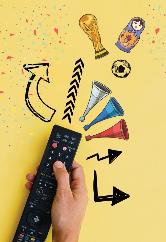 ¿Cuántos vemos el Mundial por televisión?
