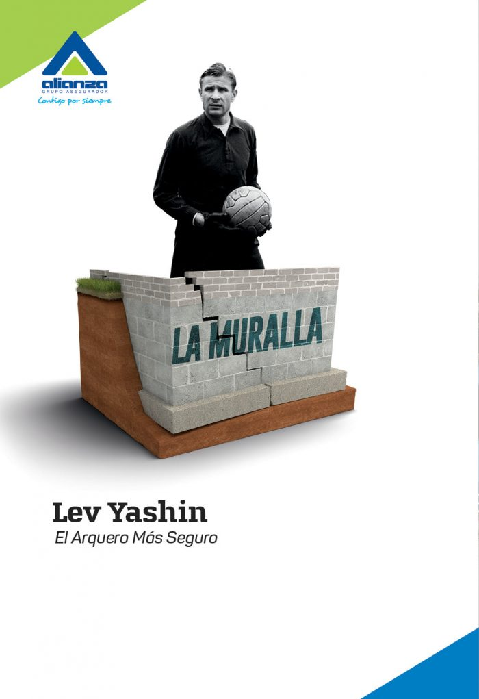 Lev Yashin – la muralla