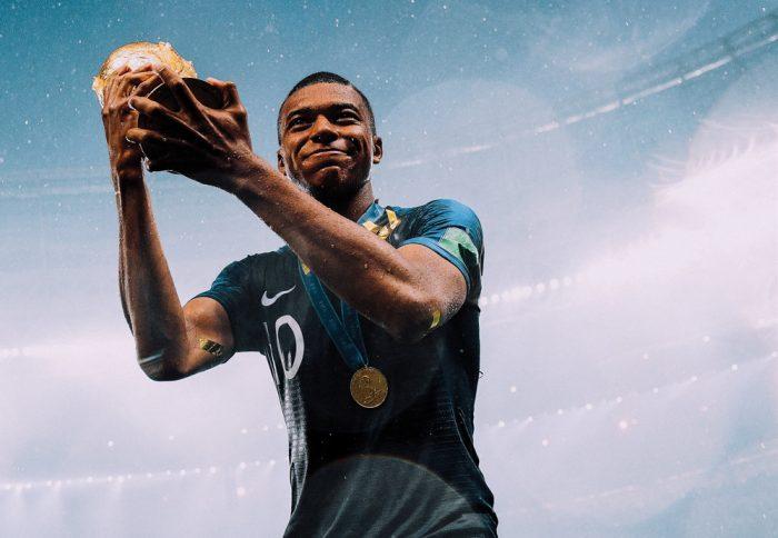 Mbappé: rapidez en el campo, rapidez en el éxito