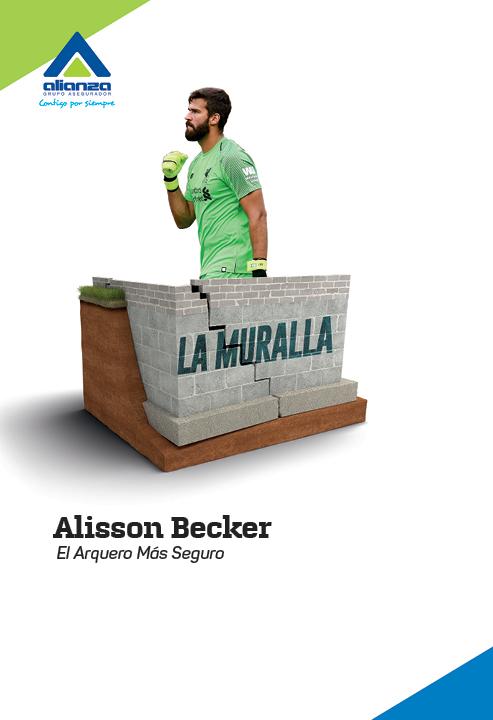 ALISSON BECKER LA MURALLA