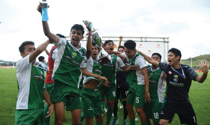La Academia Tahuichi consiguió un nuevo trofeo en España