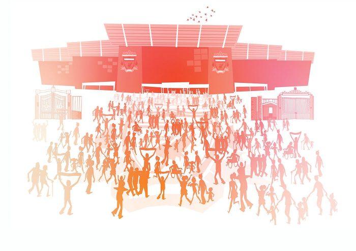 Anfield, un romántico templo del fútbol